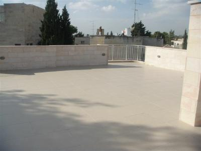 Rehavia Apartment, 150 sqm roof terrace